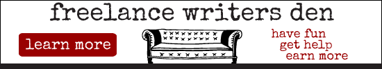 LEARN MORE about the Freelance Writers Den